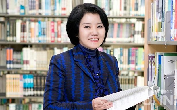 정수아 오산대 디지털콘텐츠디자인과 교수.(사진= 이중삼 기자)
